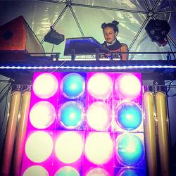 DJ Bad Ash Burning Man