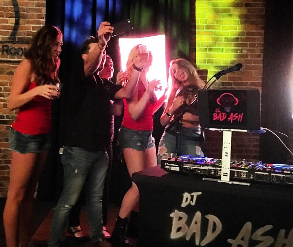 DJ Bad Ash in Nashville for CMA Fest