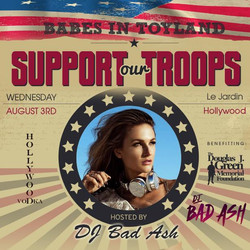 DJ Bad Ash support our troops