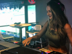 DJ Bad Ash topgolf vegas
