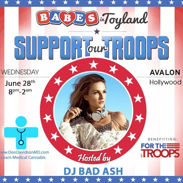 Support our Troops Charity event