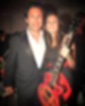 Ashlee Williss and Christian Slater at Americsn Music Awards