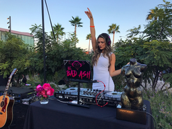 Farrah Fawcett Foundation DJ Bad Ash