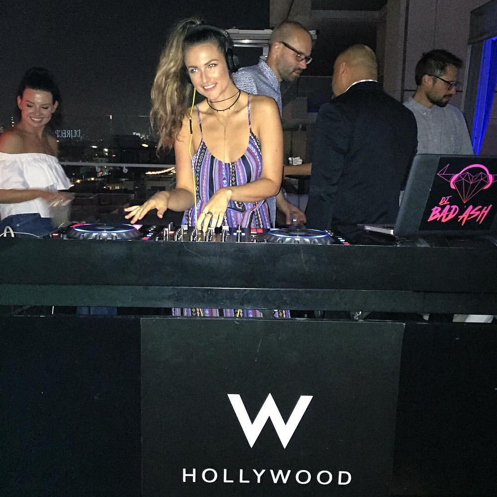 DJ Bad Ash at The W Hotel for summer residency