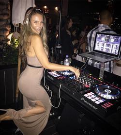 DJ Bad Ash at W Hotel pool