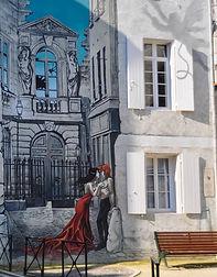 Angoulême mur peint Yslaire