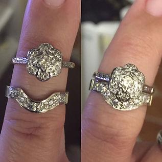 Bespoke Hand made wedding ring