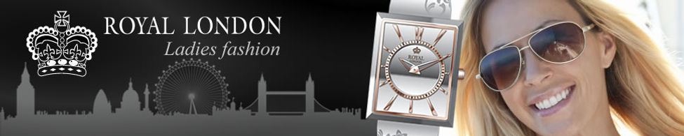 Banner for Ladies Royal London Watches on Sale in our shop in Ramsey Cambridgeshire