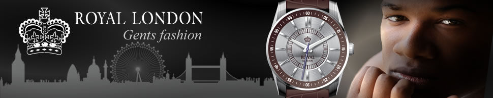 Banner for Gents Royal London watches model on sale in our shop in Ramsey Cambridgeshire