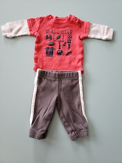 NB Red All Star Outfit