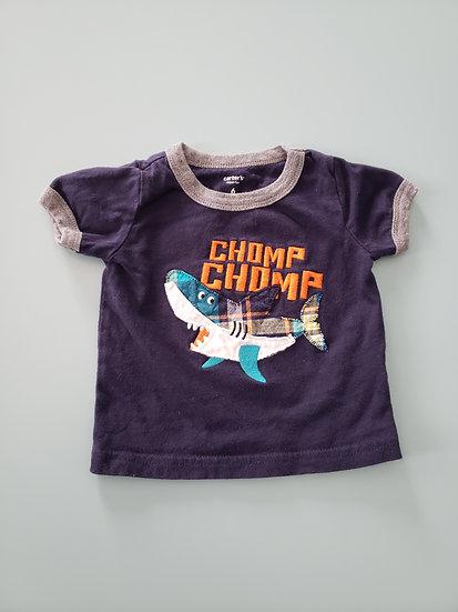 6 month Carter's Shark Tshirt