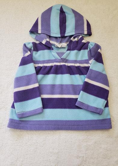 12 month Hoddie Purple and Blue