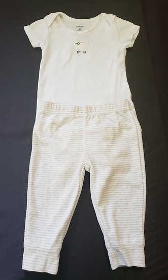 6 month Carter's Lamb Outfit