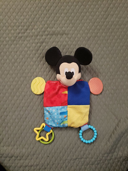 Multi color Mickey Mouse Lovey
