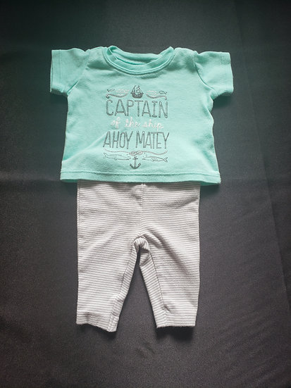 NB Carter's Ahoy Matey Outfit