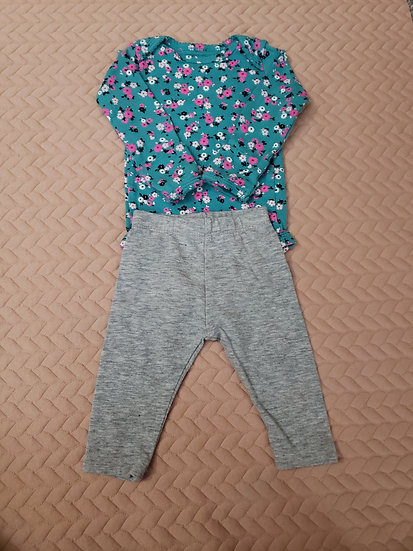 NB Blue Flower Outfit