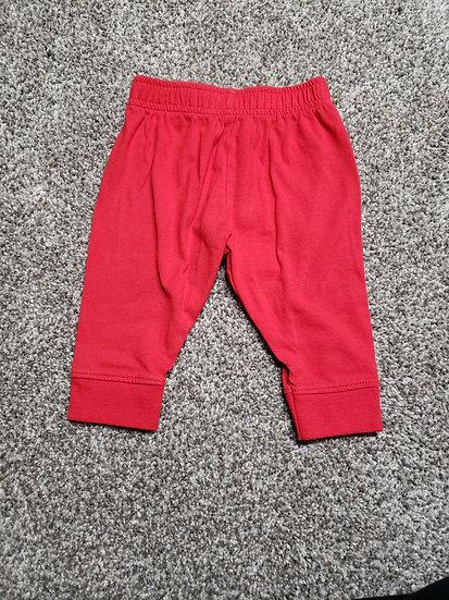 3-6 month Garanimals Red Pants