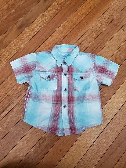 6 month Button Down Shirt