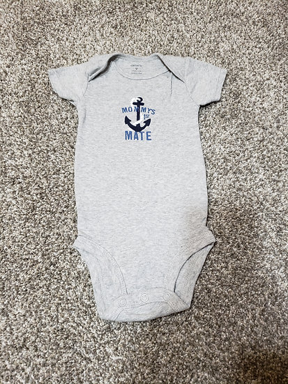 9 month Carter's Mommy's 1st Mate Onesie