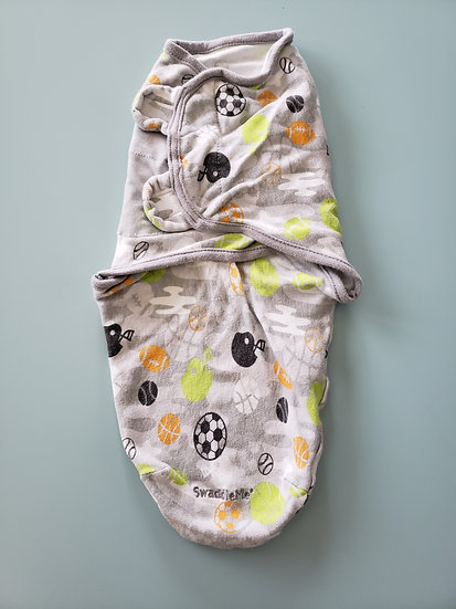 Sm/Med Gray Sports Swaddler