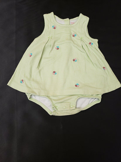 12 month Carter's Green Dress