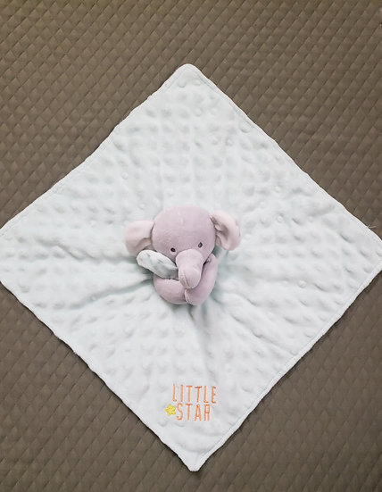 Light Blue Elephant Lovey