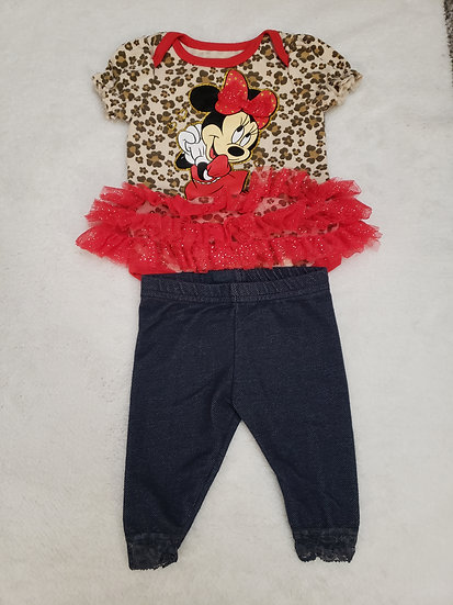 0-3 month Minnie Outfit