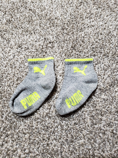 Gray Puma Socks