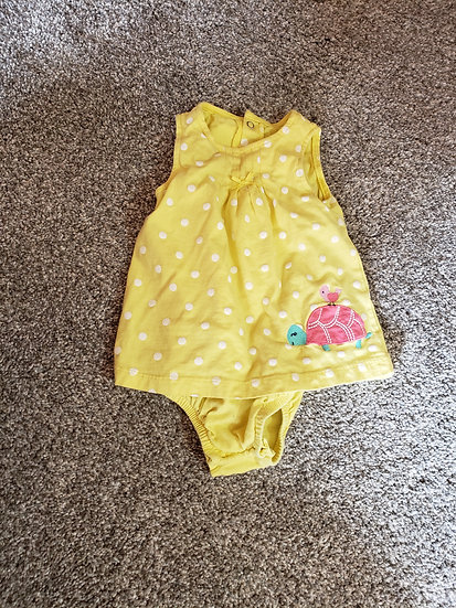 9 month Carter's Yellow Dress