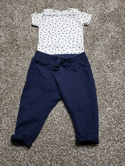 3-6 month Star Outfit