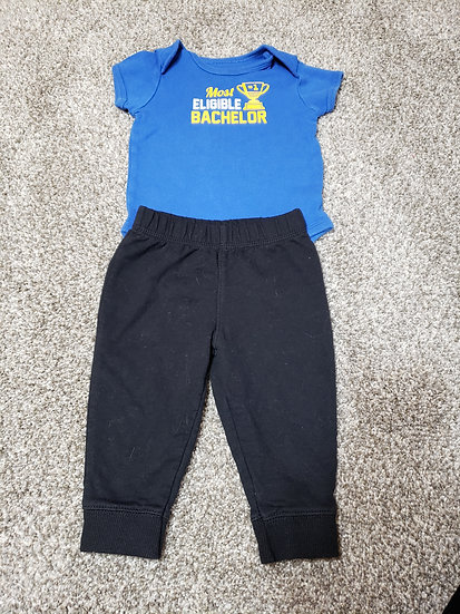9 month Most Eligible Bachelor's Carter's Outfit