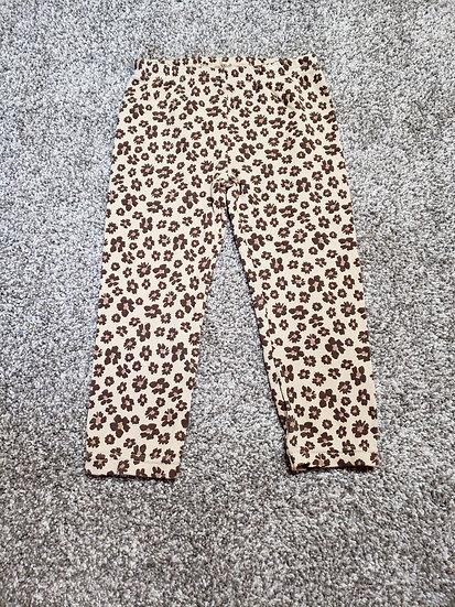 24 month Child of Mine Brown Leopard Leggings