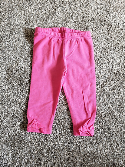 9 month Jumping Beans Pink Pants with Bows on the Legs