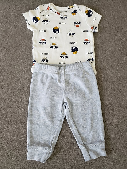 3 month Carter's Animal Outfit