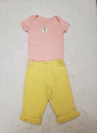 NB Pink and Yellow Outfit