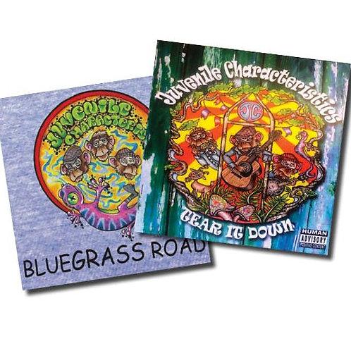 CD Package w/Tear It Down & Bluegrass Road