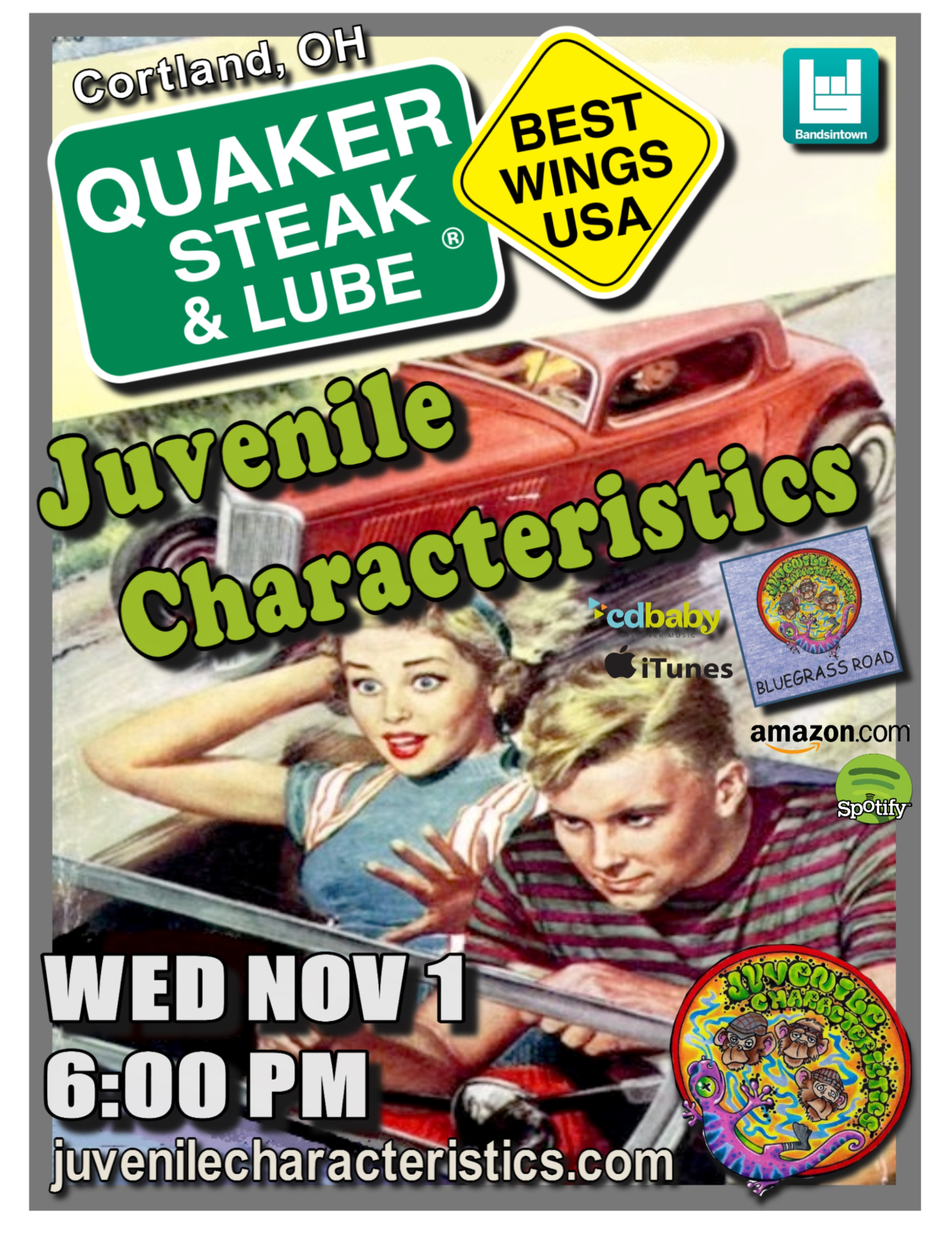Quaker Steak & Lube 11/1/17
