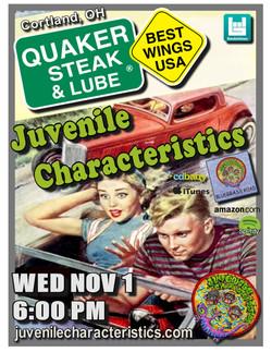 Quaker Steak & Lube 11/1/17