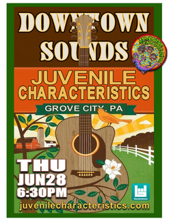 6-28-18 Grove City Downtown Sounds