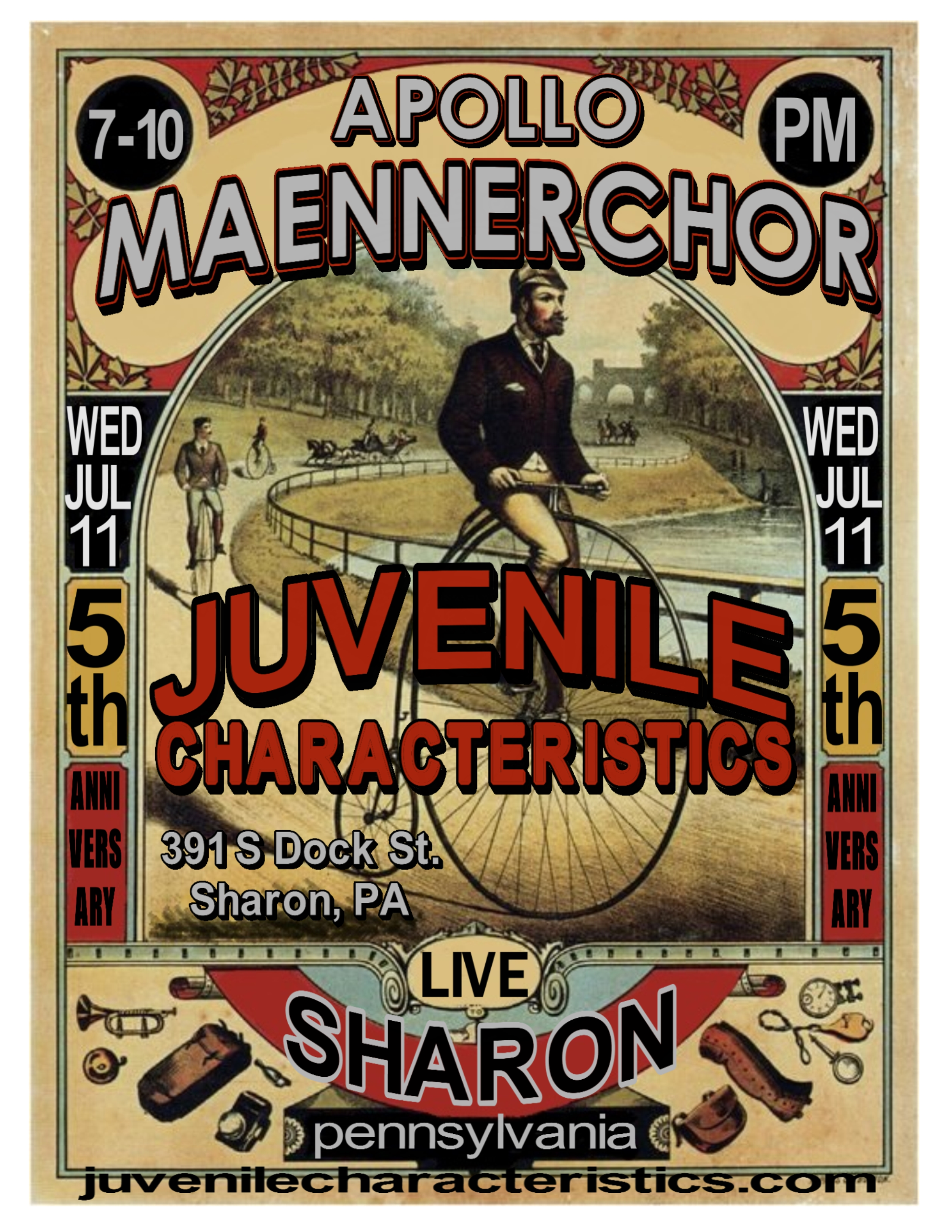 7-11-18 Maennerchor Club