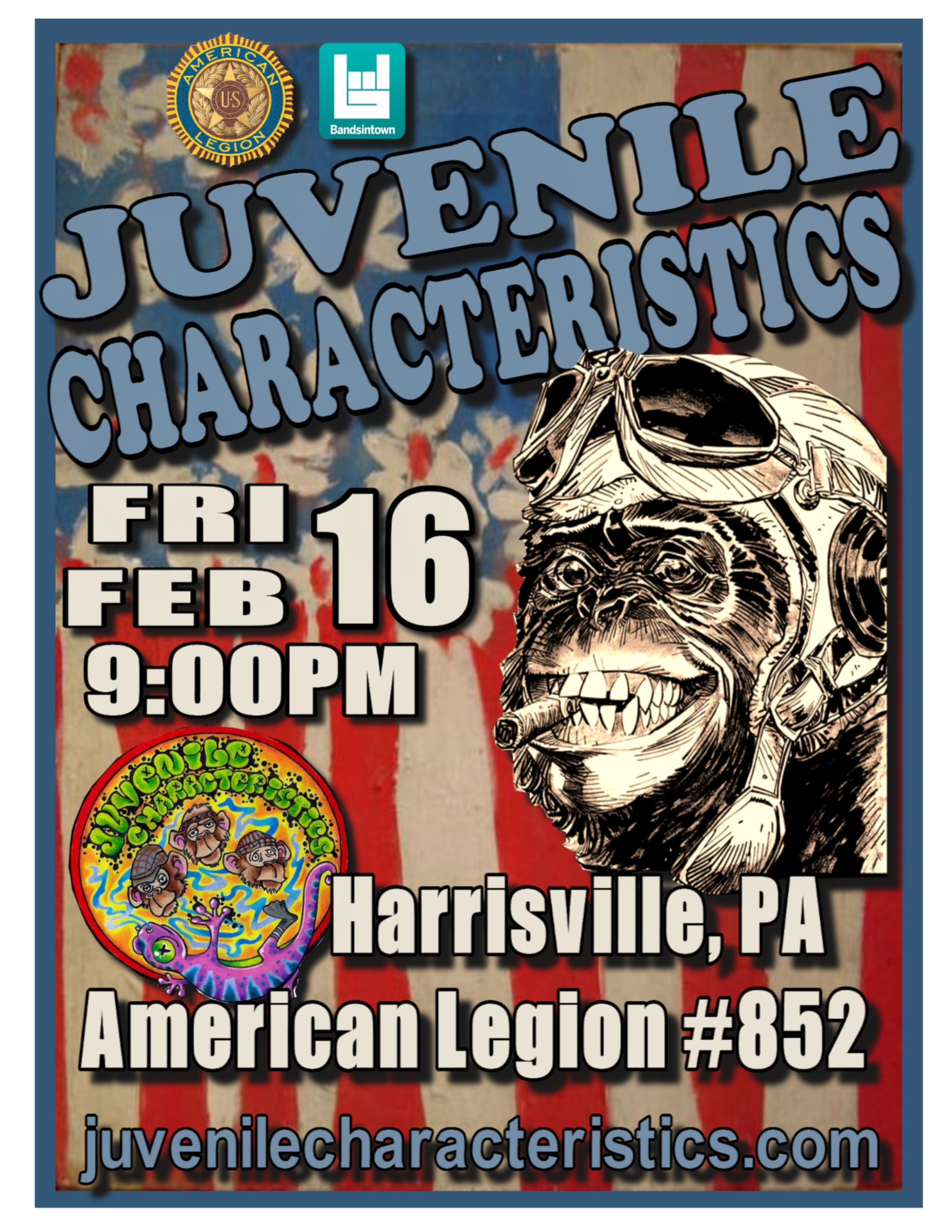 2-16-18 Harrisville Legion