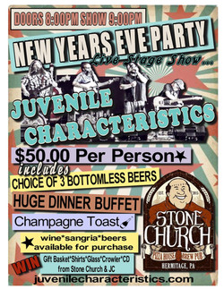 New Year's @ Stone Church 12/31/17