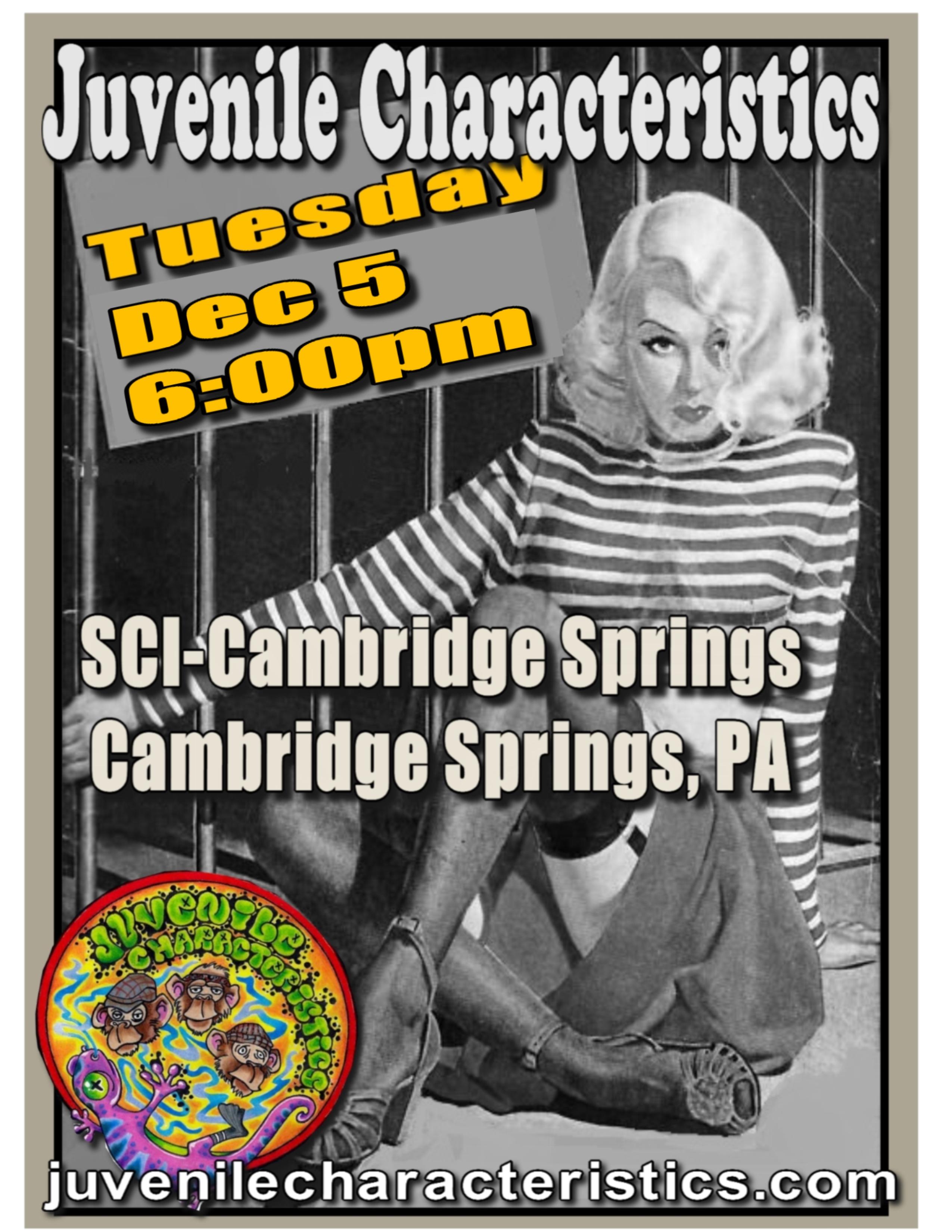SCI-Cambridge Springs 12/5/17