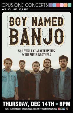 12-14-17 Boy Named Banjo