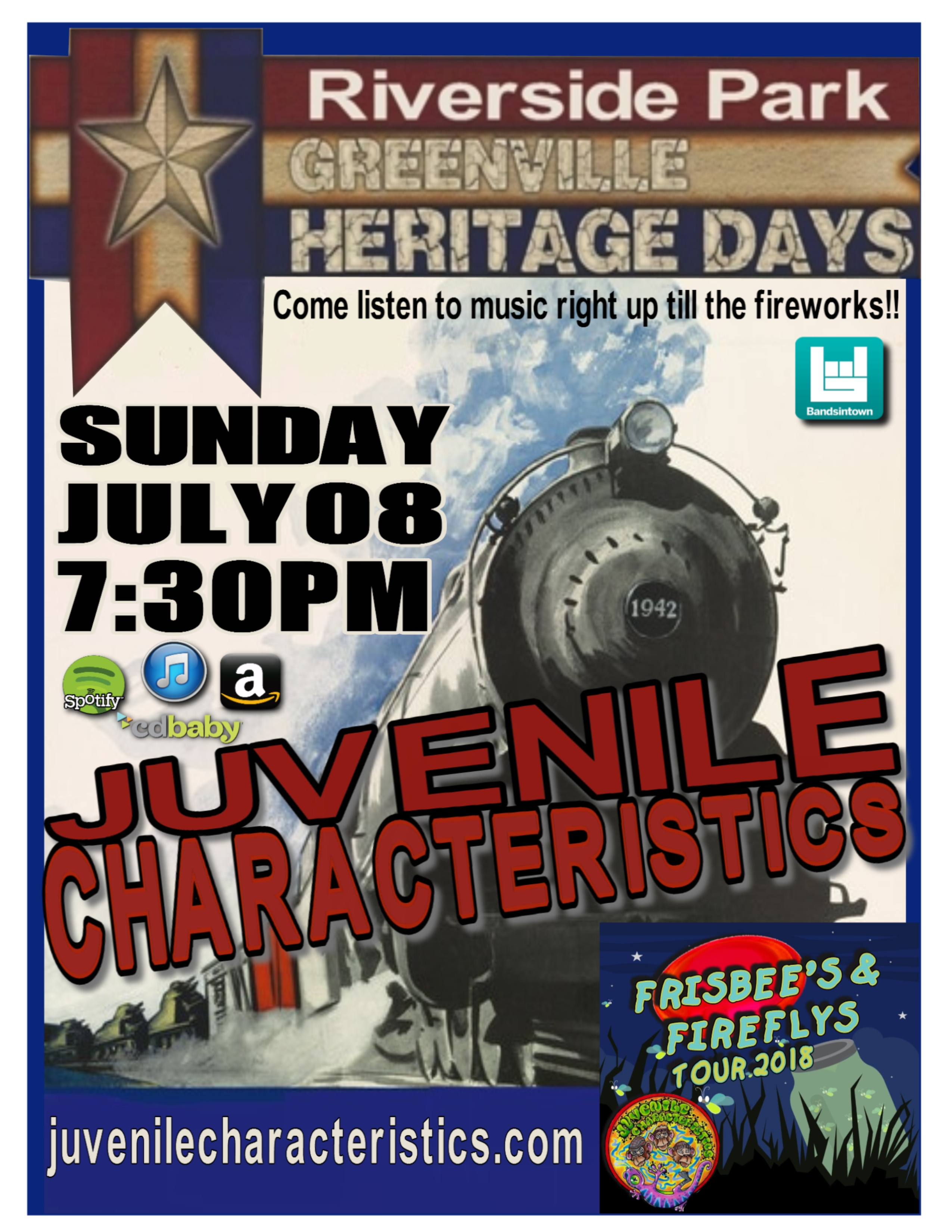 7-8-18 Greenville Heritage Days