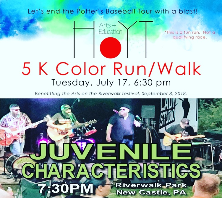 7-17-18 Color Run New Castle