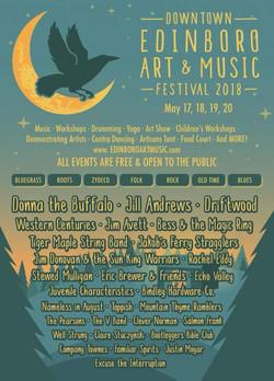 5-18-18 Edinboro Festival