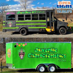 Juvenile Characteristics Bus and Trailer 2