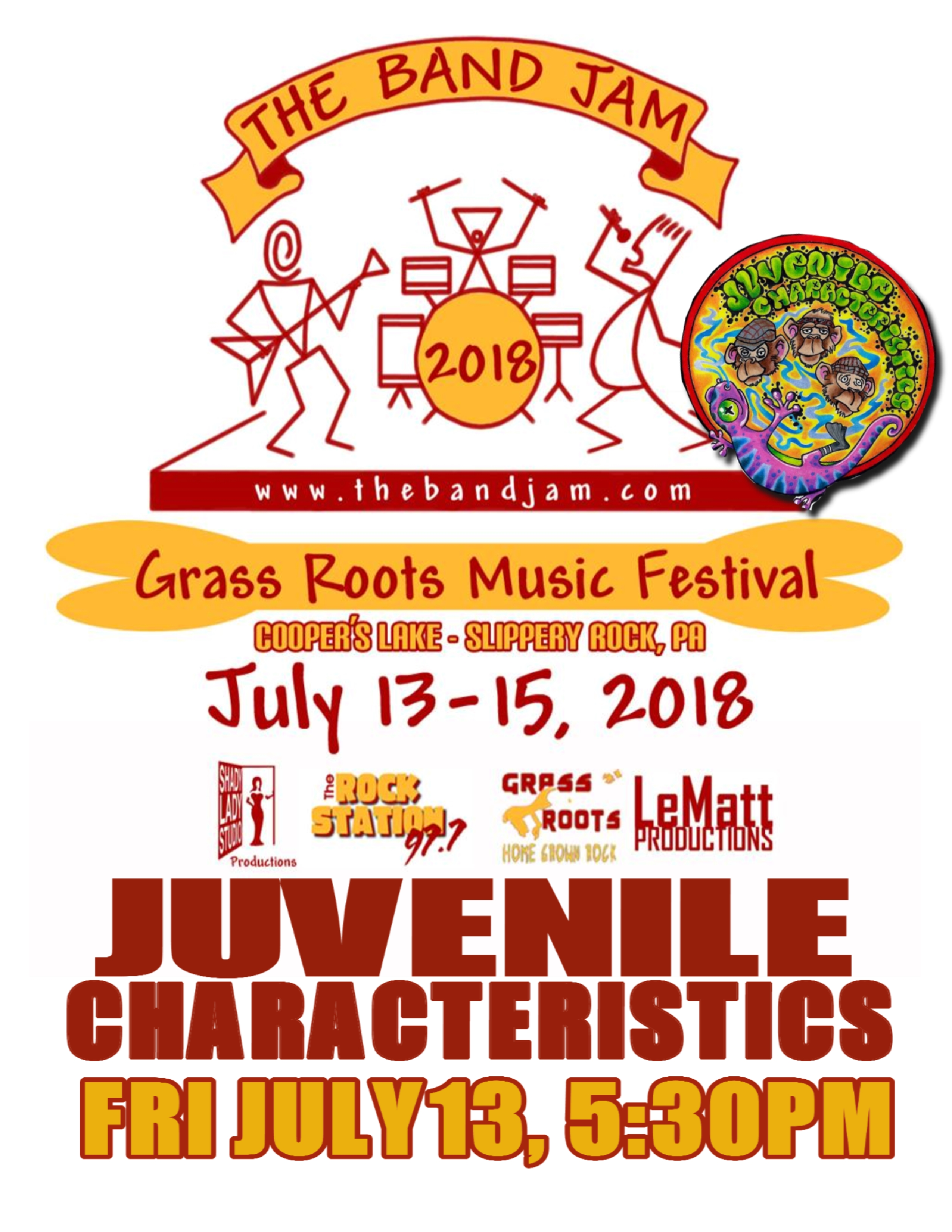7-13-18 Band Jam Festival