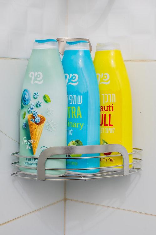 מדף פינתי למקלחת דגם 9